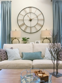 Stunning Wall Clock from Grandin Road